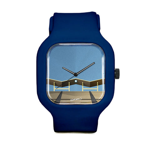 Minimalist Dodger Stadium Sport Watch