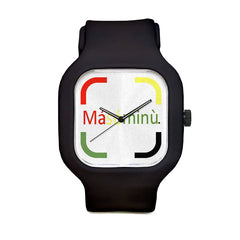 Masominu Logo Sport Watch