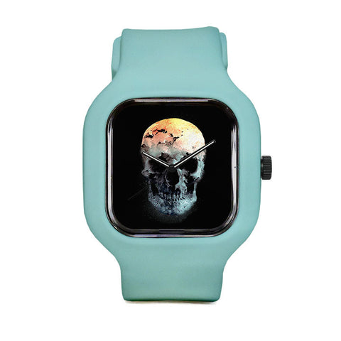 Autumn Skull Sport Watch
