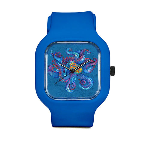 Swirly Octopus Sport Watch