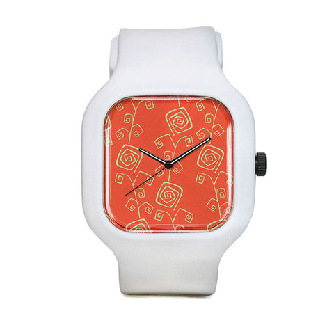 Dizzy Flowers Sport Watch