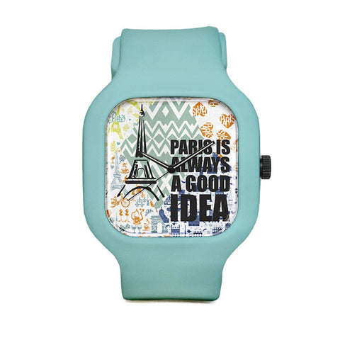 Paris Time Sport Watch