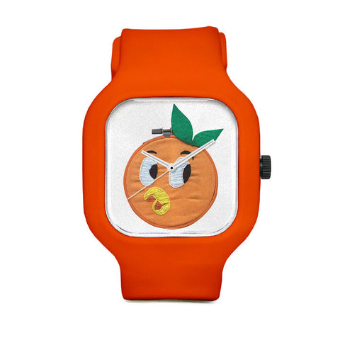 Orange Sport Watch