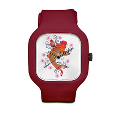 Asia Floral Koi Sport Watch