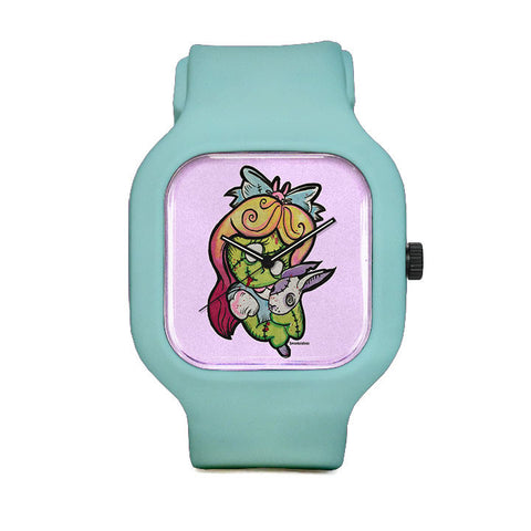 Little Miss Curiouser and Curiouser Sport Watch