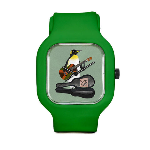 Penguin Guitar Sport Watch