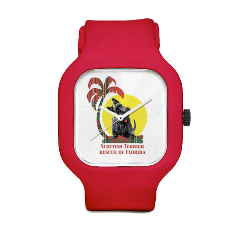 Scottish Terrier Resue of Florida Monroe Sport Watch