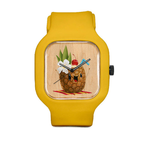 Pineapple Drink Sport Watch