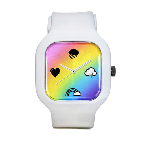 Rainbow Chrono Gradient Sport Watch