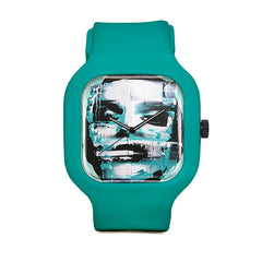 Blue Disfigured Sport Watch