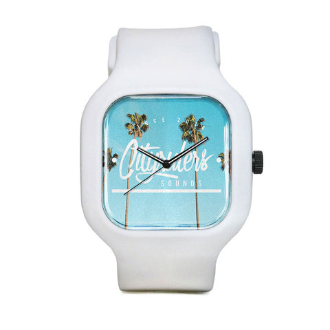 Palm Tree Sport Watch