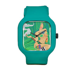 Green Goddess Sport Watch