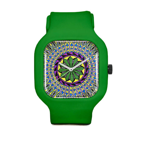 Squid Mandala Sport Watch