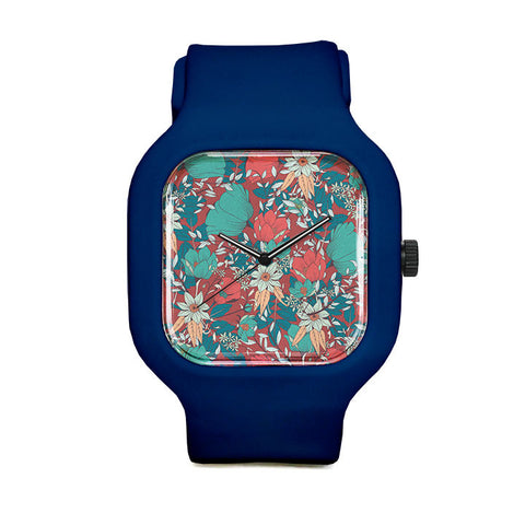 Botanical Pattern 14 Sport Watch