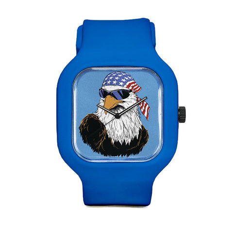 Patriotic Eagle Sport Watch