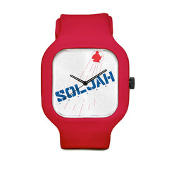 Soljah Blues Sport Watch