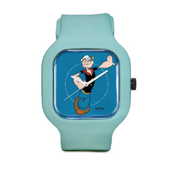 Popeye Blue Sport Watch