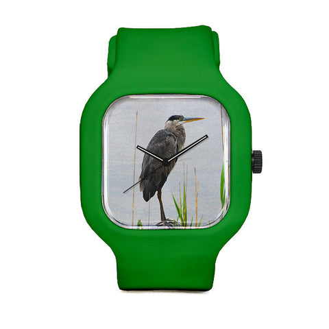 Perched Bird Sport Watch