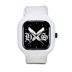 Feather Logo Sport Watch