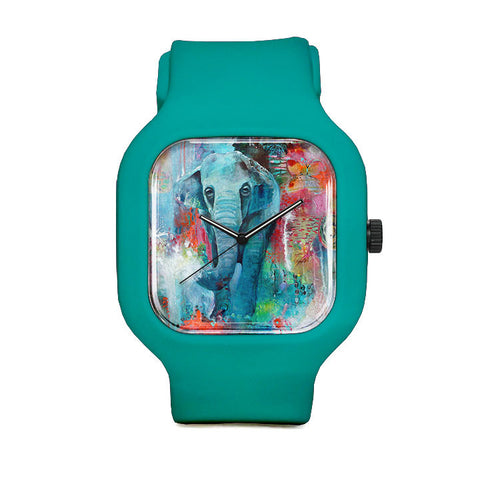 The Elephant and the Butterfly Sport Watch