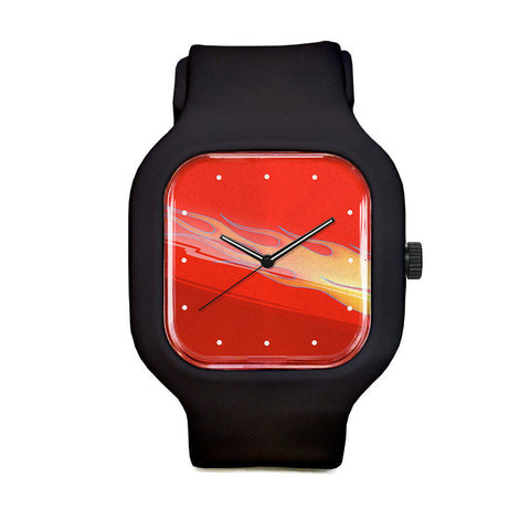 Flames Sport Watch