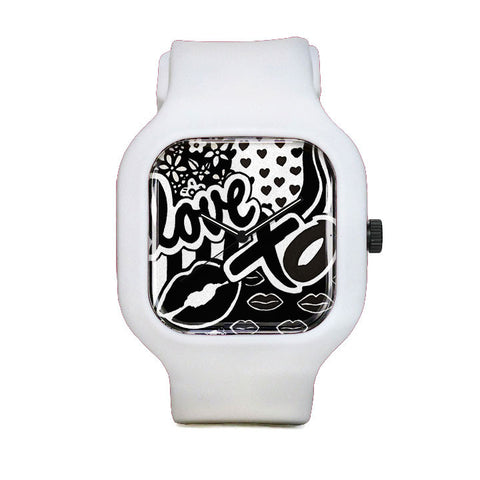 Love Me Like XO Sport Watch