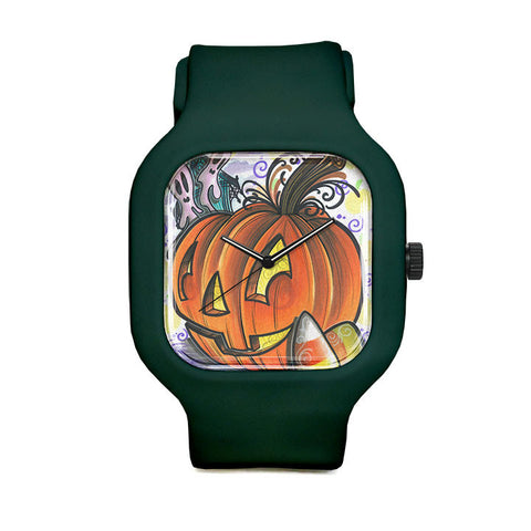 Candy Pumpkin Sport Watch