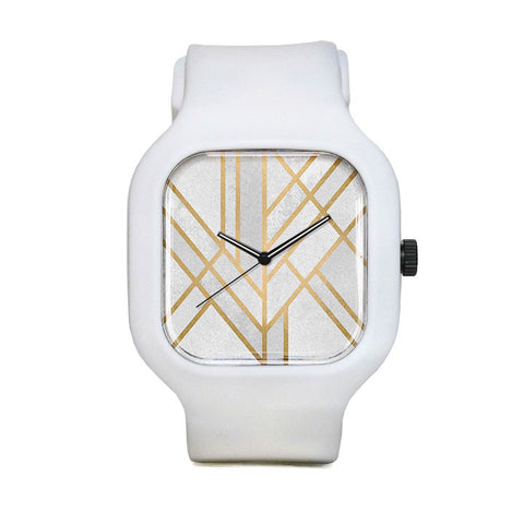 Art Deco Geometry Sport Watch