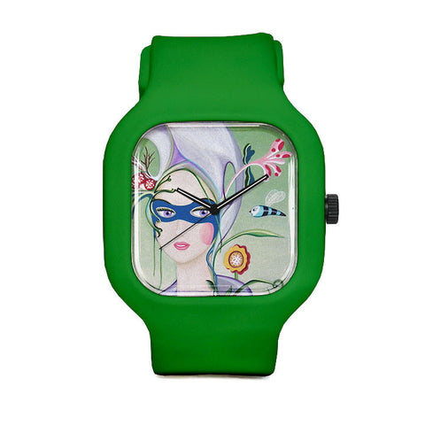 Carolina Seth The Botanist's Daughter Sport Watch