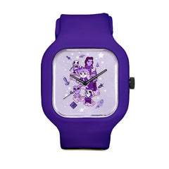 Guardians Time Purple Sport Watch