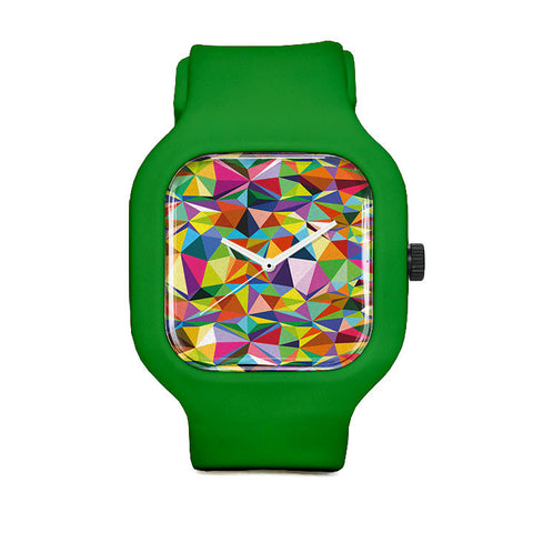 Okuda Triangles Sport Watch