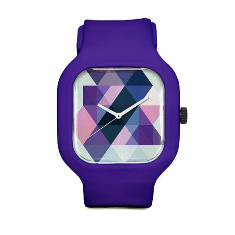 James Passos Purple Sport Watch