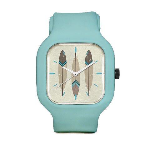 Pointed Feathers Sport Watch