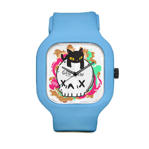 Cat Skull Sport Watch