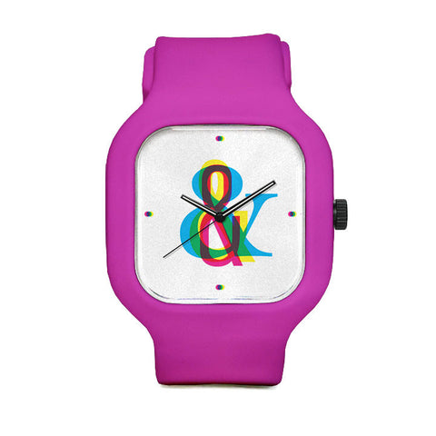 CMYK Ampersand Sport Watch