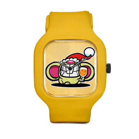 Christmas Cheese Sport Watch