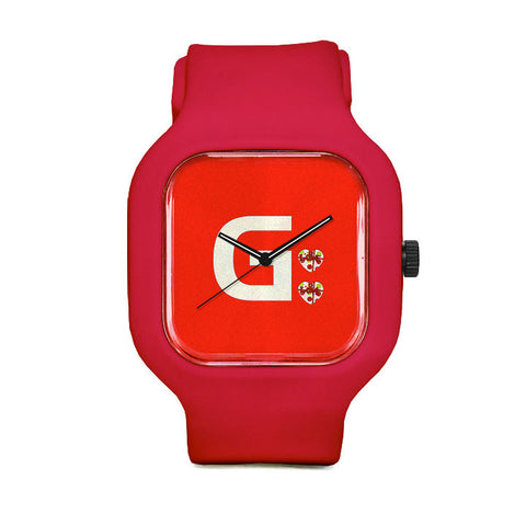 GFit Red Valentine Sport Watch