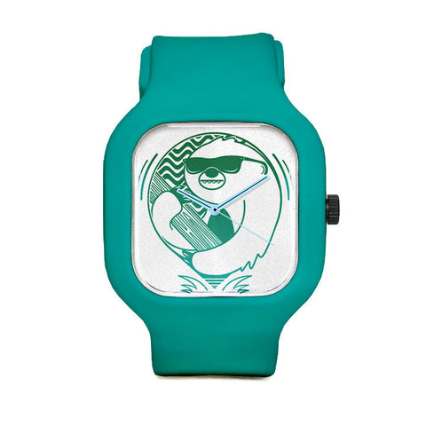 Sloth Sunglasses Sport Watch