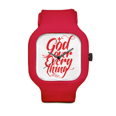 God Over Everything Sport Watch