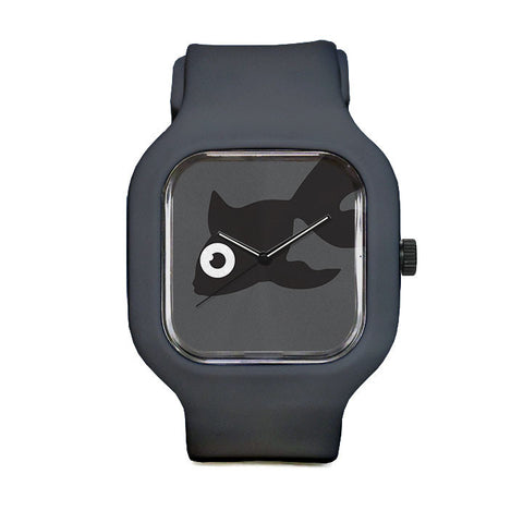 Black Goldfish Sport Watch