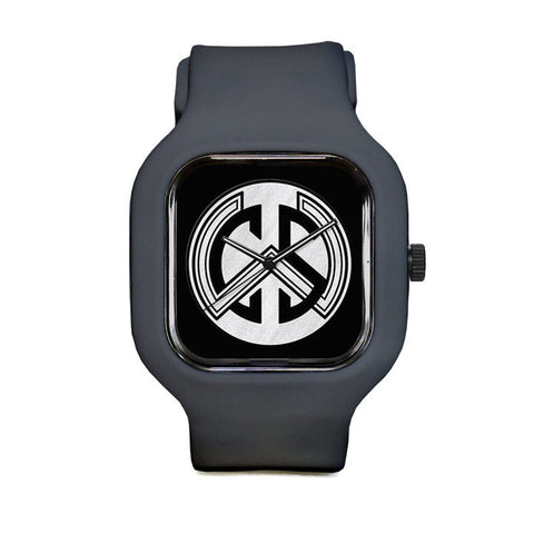 WCS Dark Logo Sport Watch