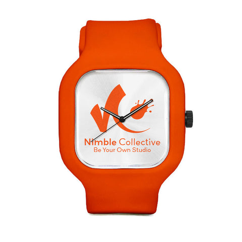Nimble Orange Sport Watch