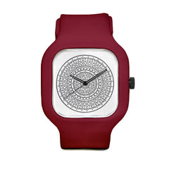 Intricate Mandala Flower Sport Watch