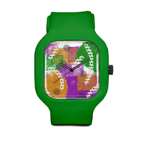 Mardi Gras Sport Watch