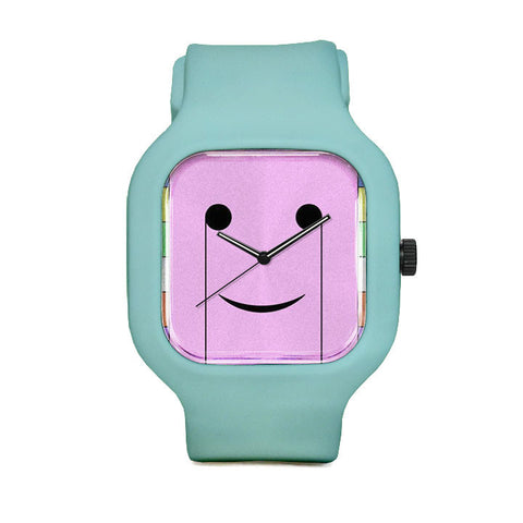 Smiley Face Sport Watch