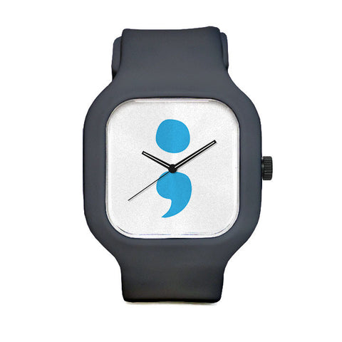 Project Semicolon Logo Sport Watch