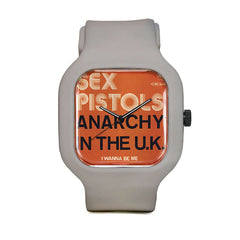 Sex Pistols Anarchy Sport Watch