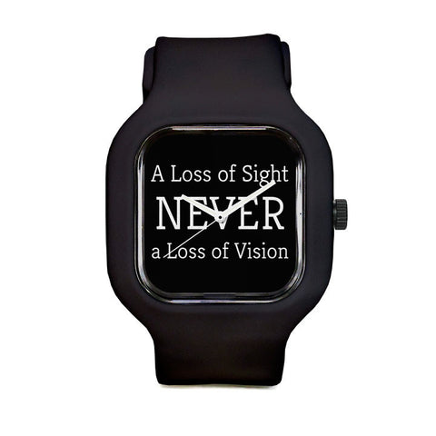 Never a Loss of Vision Sport Watch
