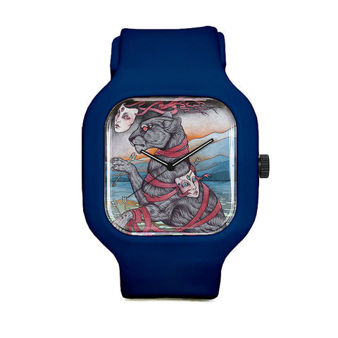 Hear Me Roar Panther Sport Watch