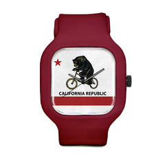 California Flag Sport Watch